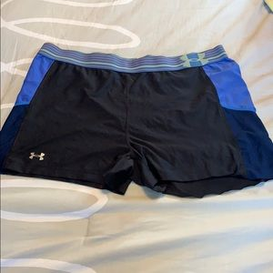 under armour spandex shorts